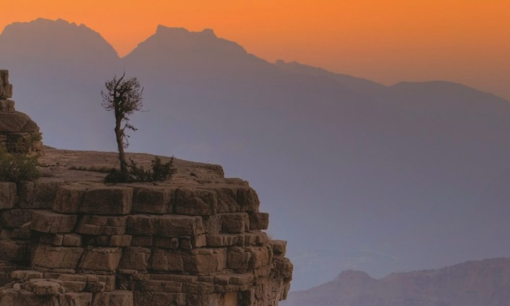 Hinterland des Oman - das Hadschar Gebirge