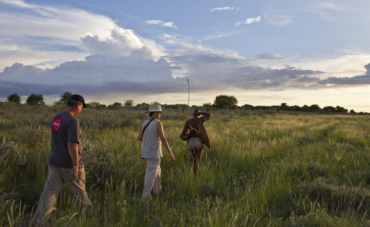 Eine Wanderung in Botswana ist ein sehr intensives Erlebnis