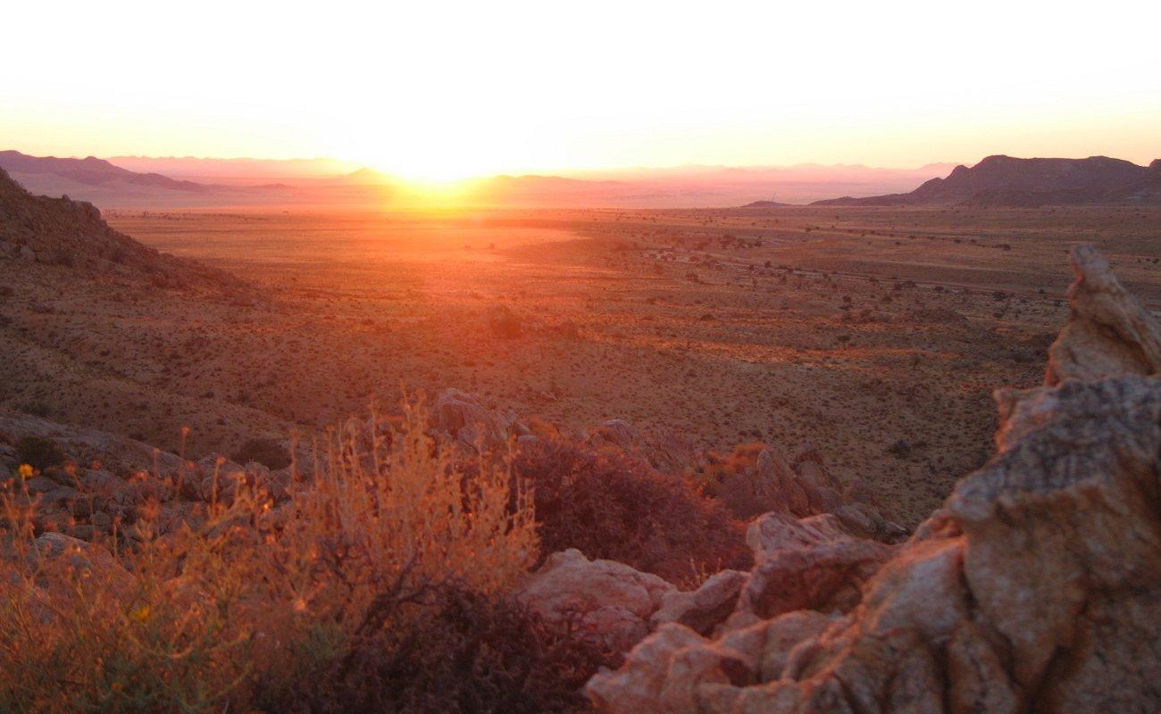 Klein-Aus Vista Landschaft Sonnenuntergang