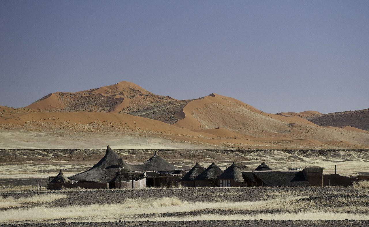 Kulala Desert Lodge mit einem Privatzugang zum Sossusvlei