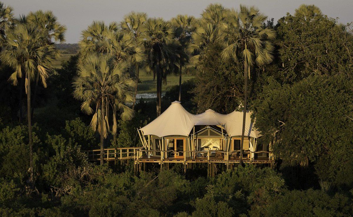 Das Wilderness Classic Camp schmiegt sich in die Bäume