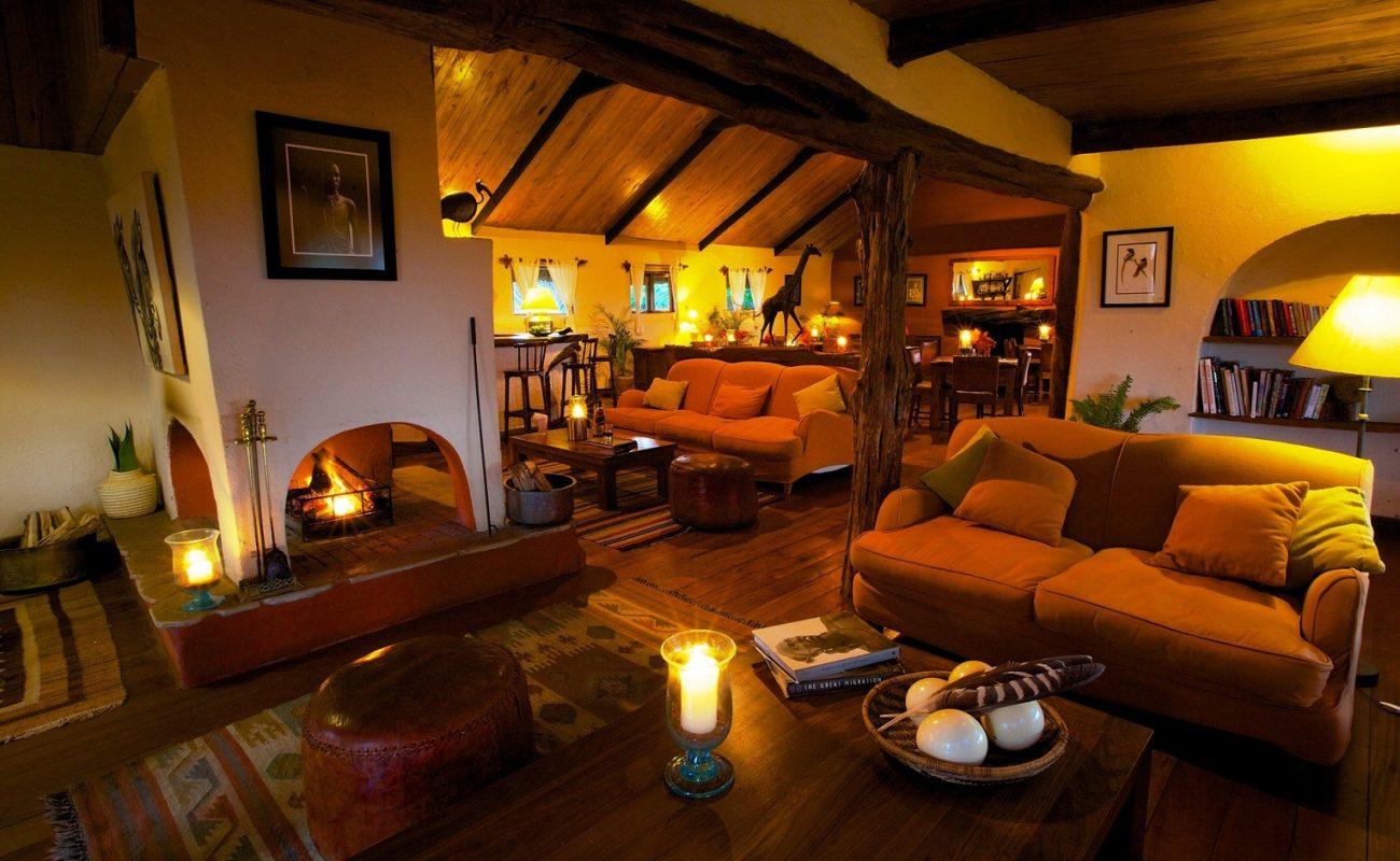 Lounge von Lewa in Kenia