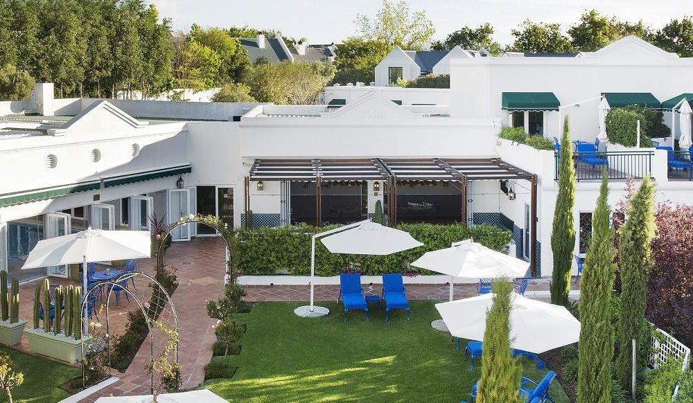 Majeka House in Stellenbosch in den Winelands von Südafrika