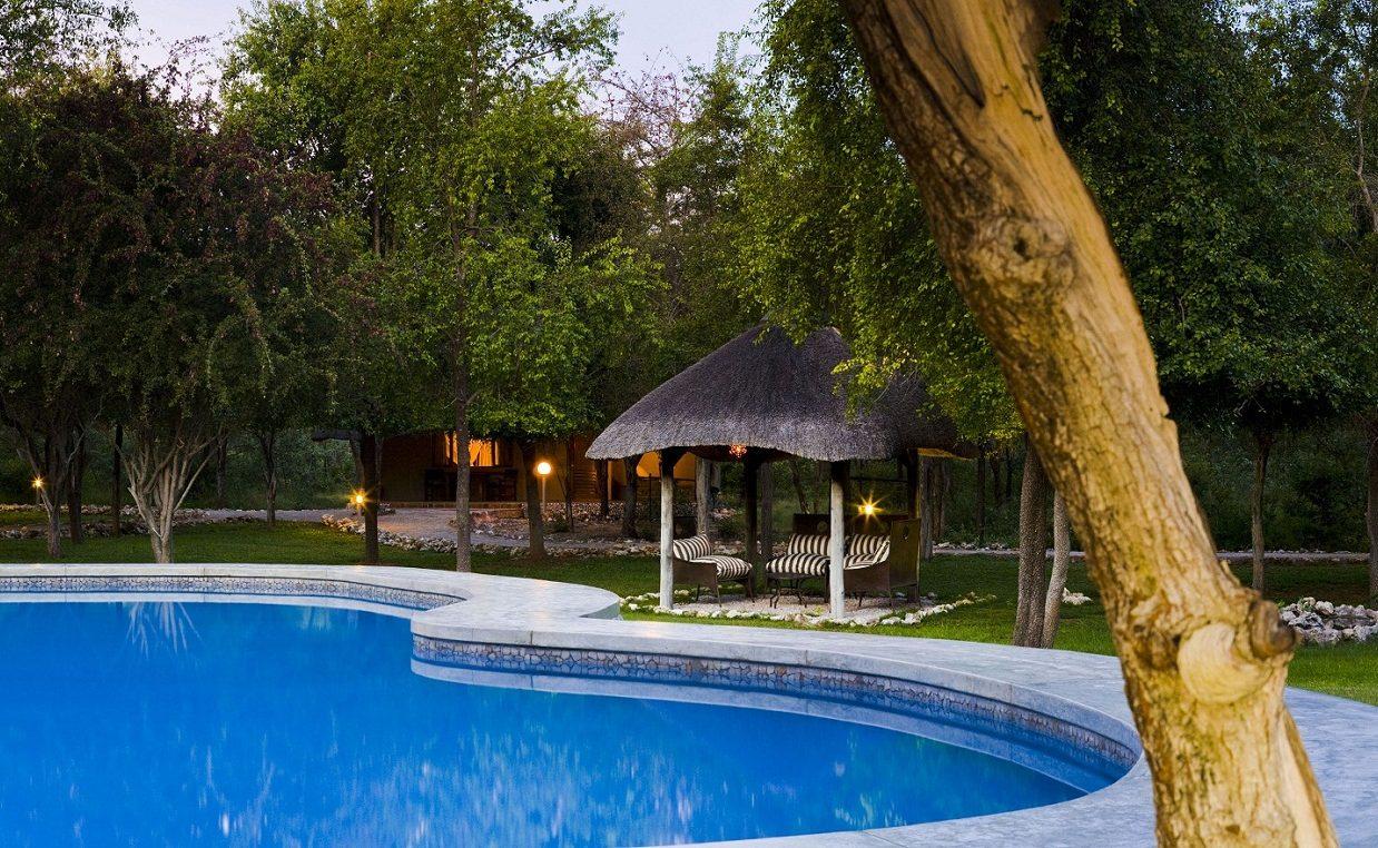 Mushara Lodge Pool