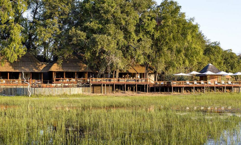 Chief's Camp von Sanctuary Retreats ist eine der besten Luxuscamps in Botswana