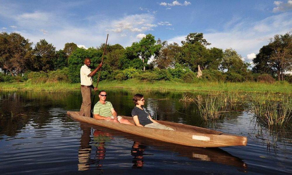 Mokorofahrt in Botswana mit Genuss Touren