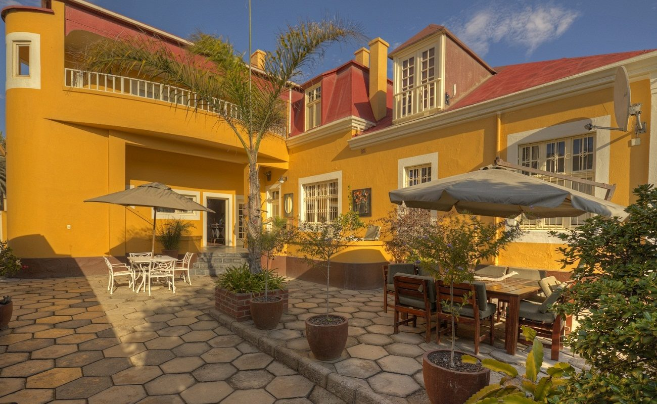 Villa Margherita Swakopmund Garten
