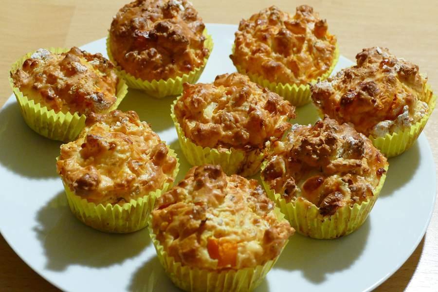 Feta Butternut-Muffins