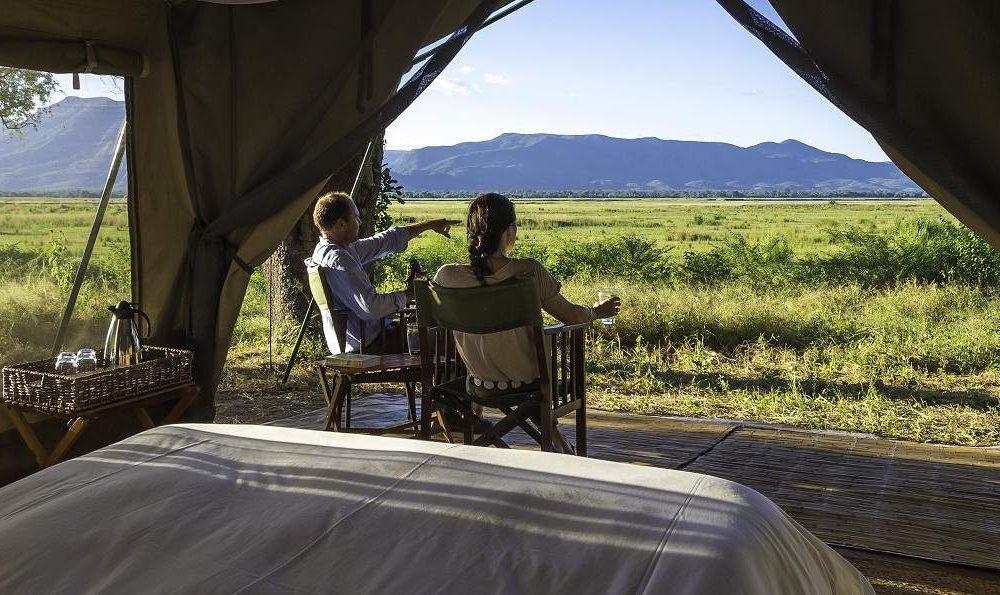 John's Camp Mana Pool Simbabwe
