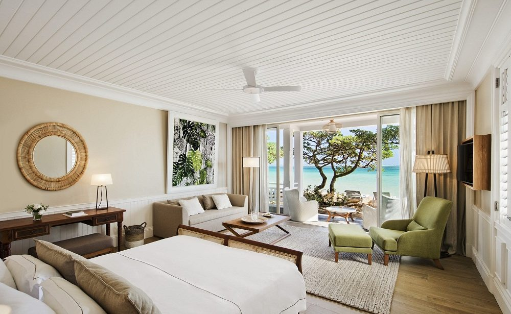 Beachfront Suite im Heritage Le Telfair