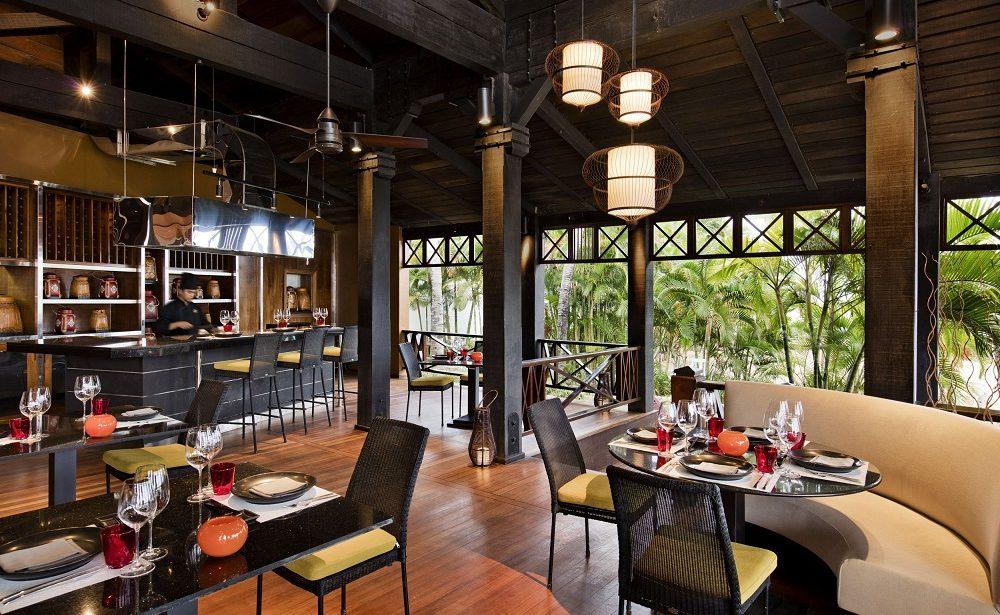Restaurant Ginja im Heritage Le Telfair