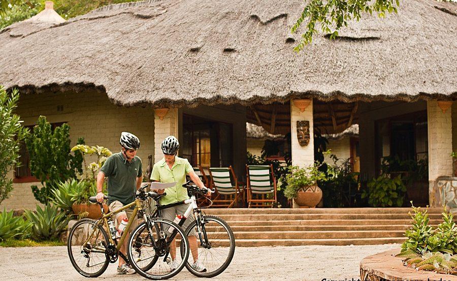 Mountainbiken in den Eastern Highlands