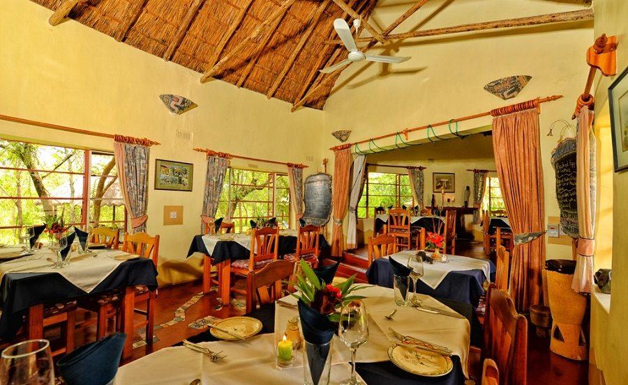 Restaurant PaMuchakata der Musangano Lodge