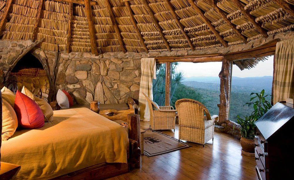 Zimmer in Ol Malo auf dem Laikipia Plateau