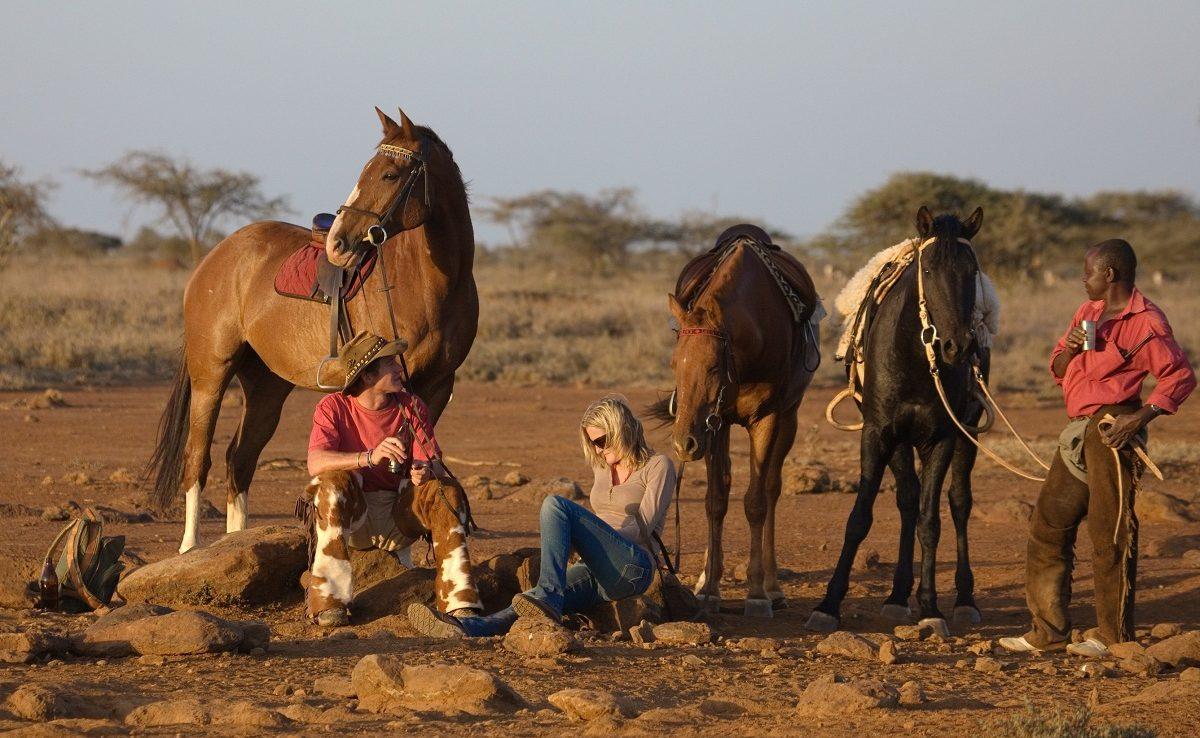 Pferdesafari bei Ol Malo
