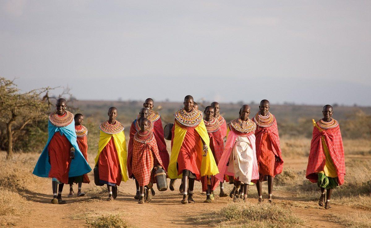 Samburu tribe bei Ol Malo