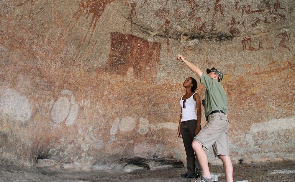 Höhlenmalereien im Matobo Nationalpark