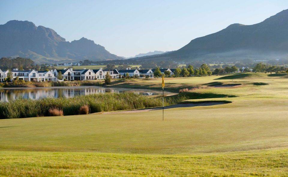 De Zalze Golfplatz in den Winelands
