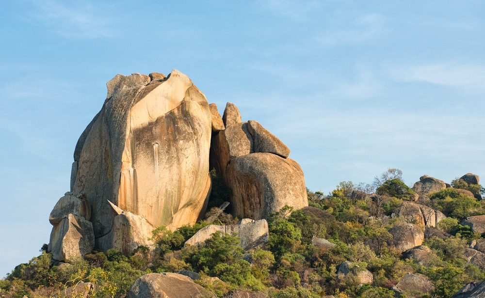 Balancing Rocks im Matobo