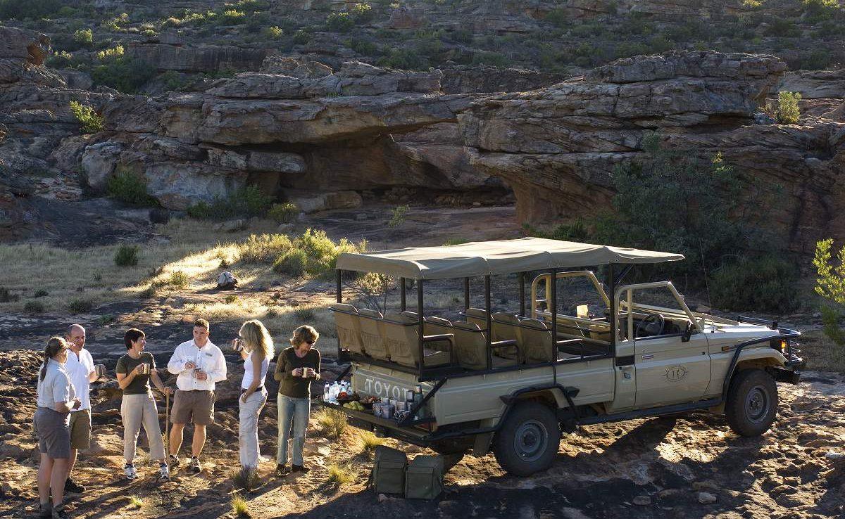 Nature Drive in den Cederbergen in Südafrika