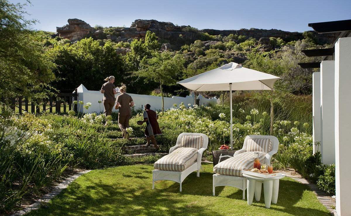 Spa Garten von Bushmans Kloof
