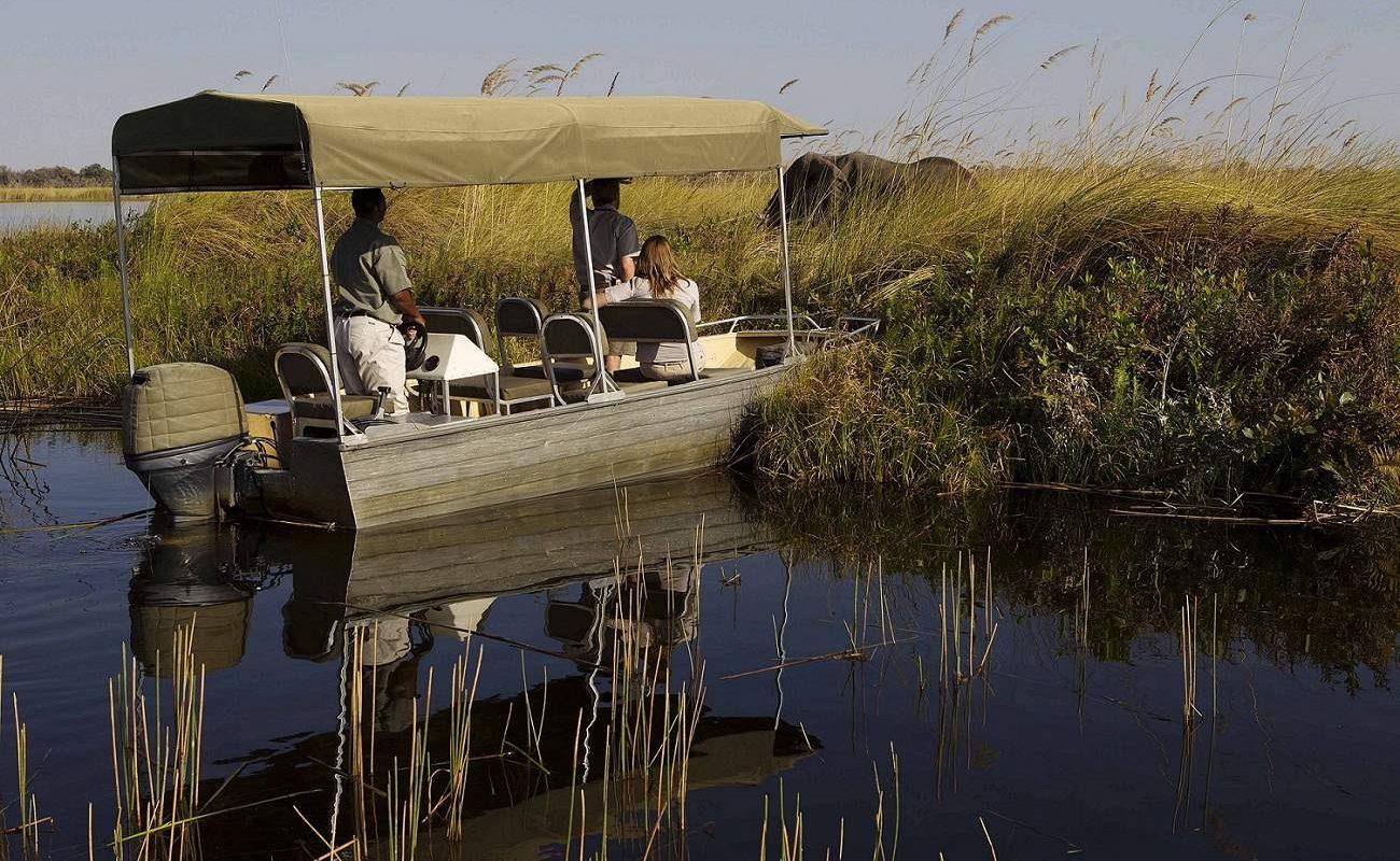 Bootstour im Okavango Delta