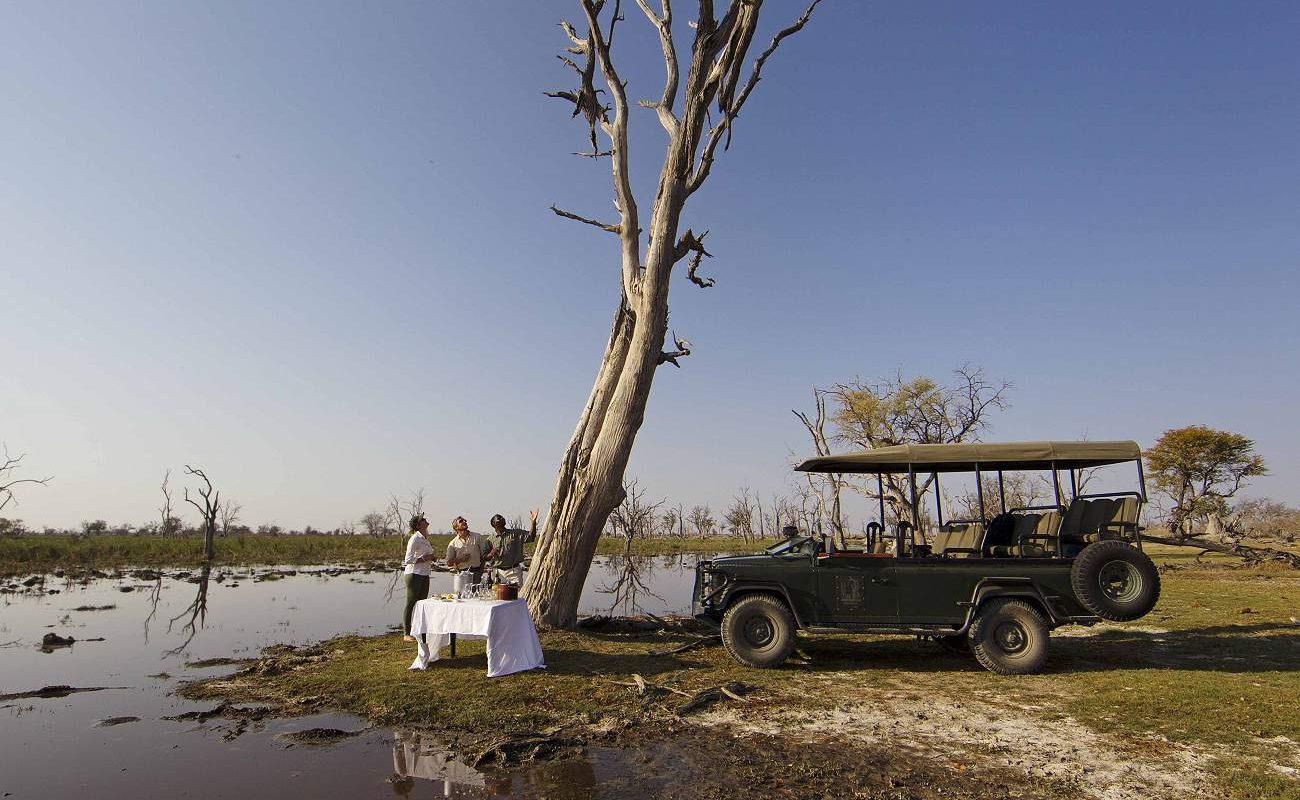 Sundowner Xakanaxa Botswana