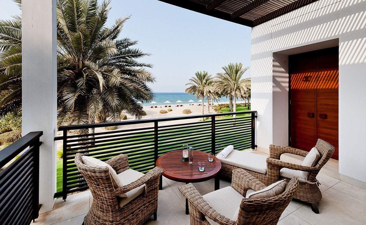 Balkon der Club Suite im The Chedi
