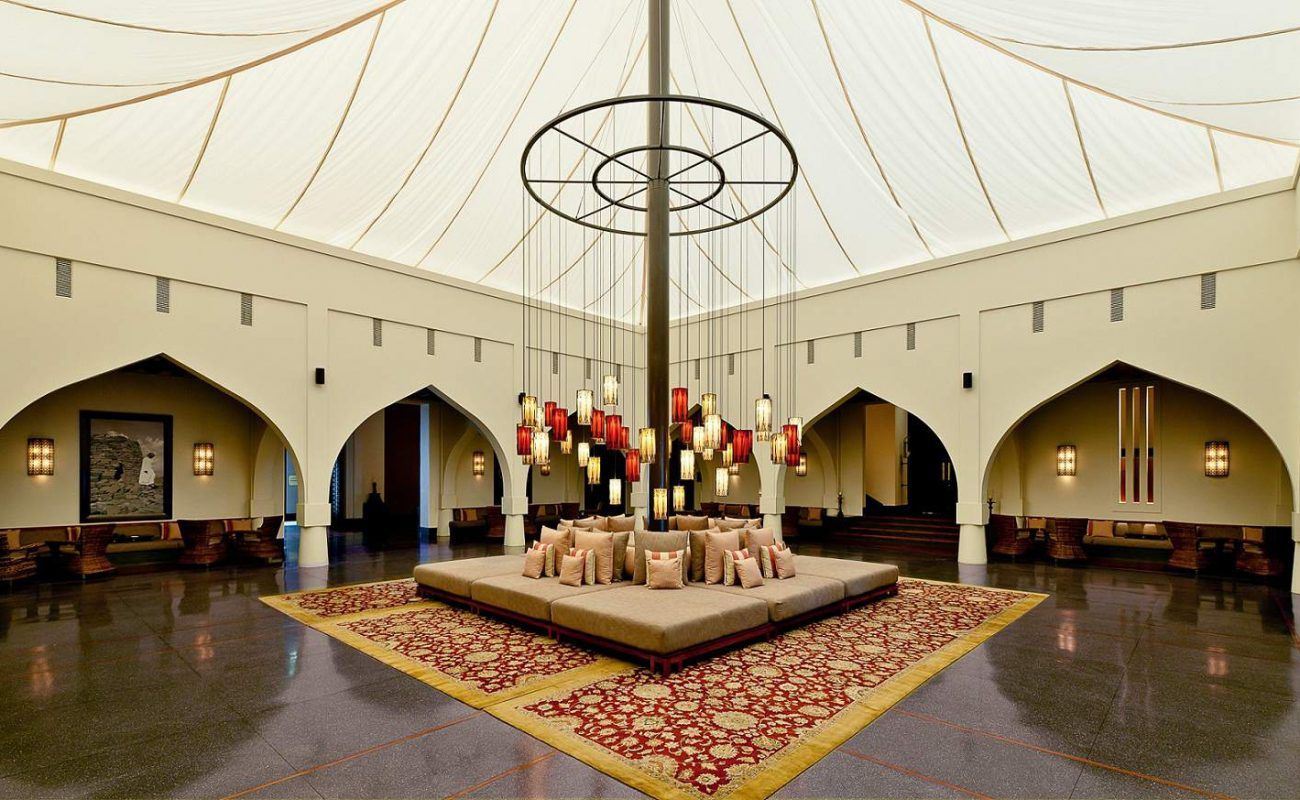 Lobby des The Chedi Muscat