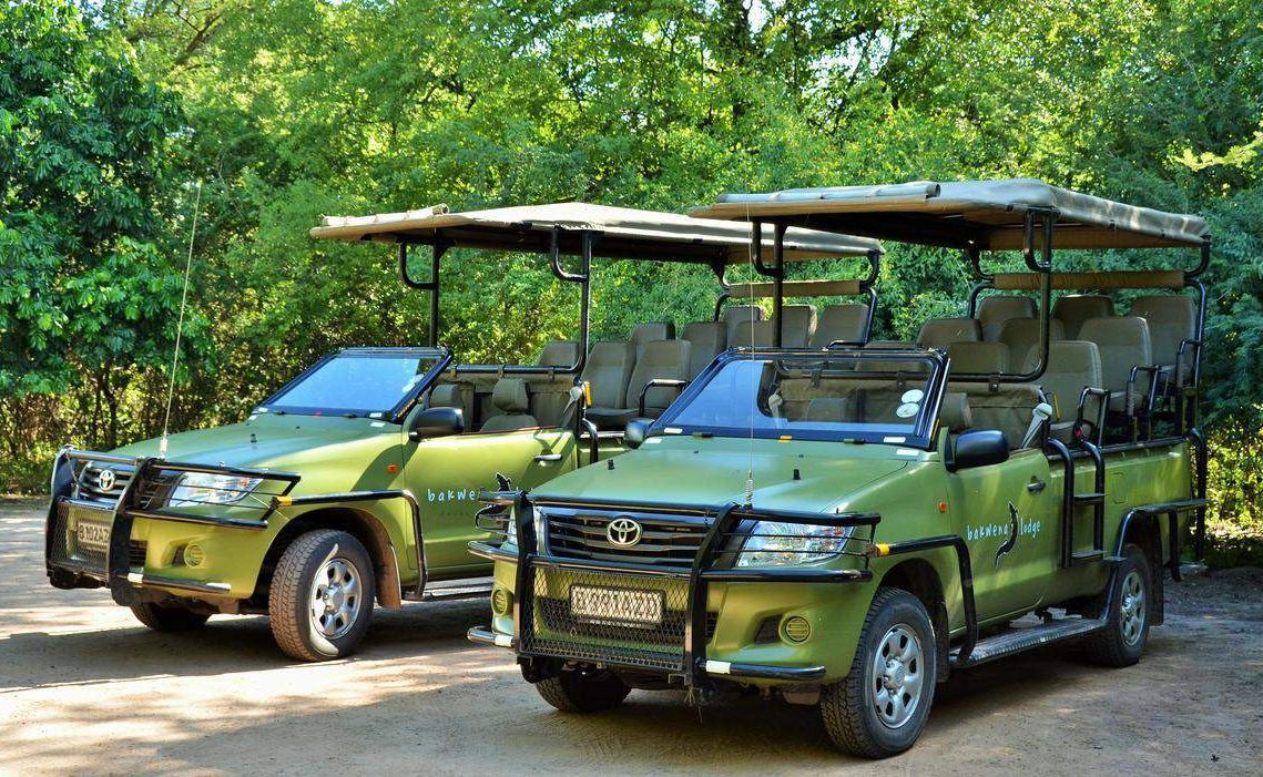 Game Vehicles des Chobe Bakwena Lodge