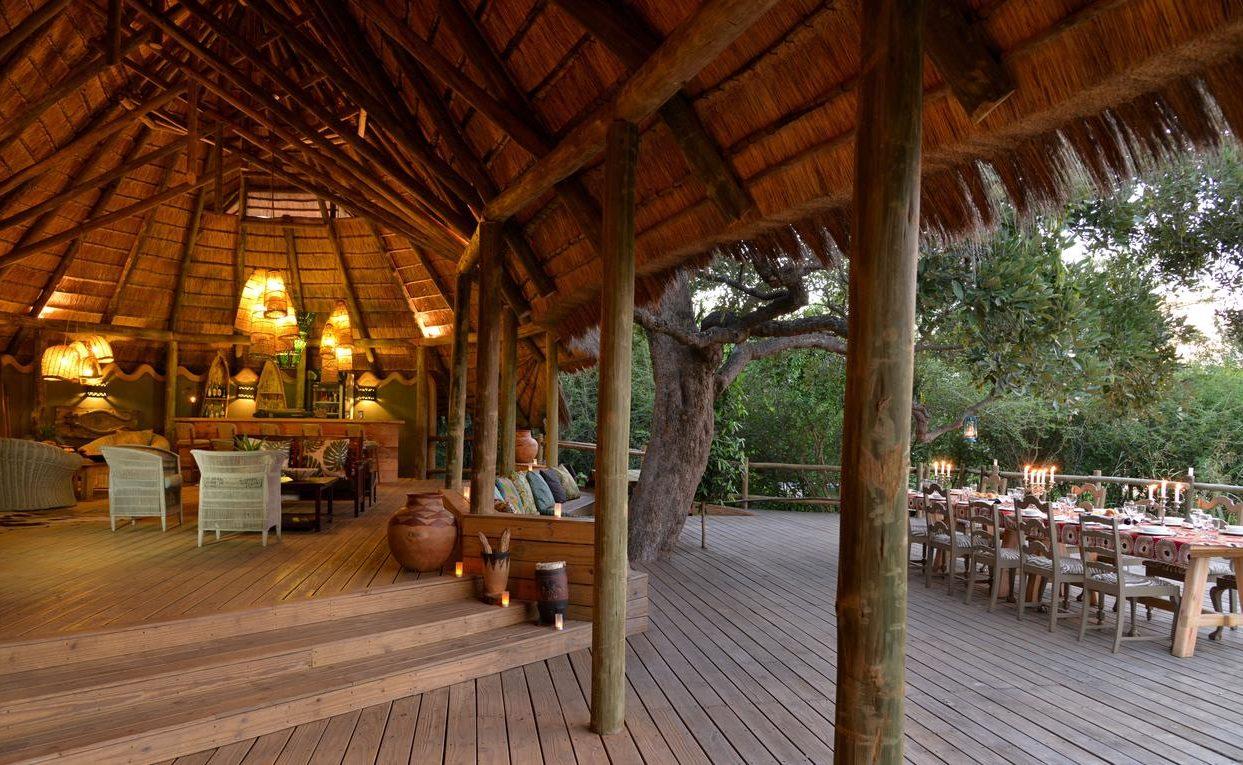 Lounge und Deck