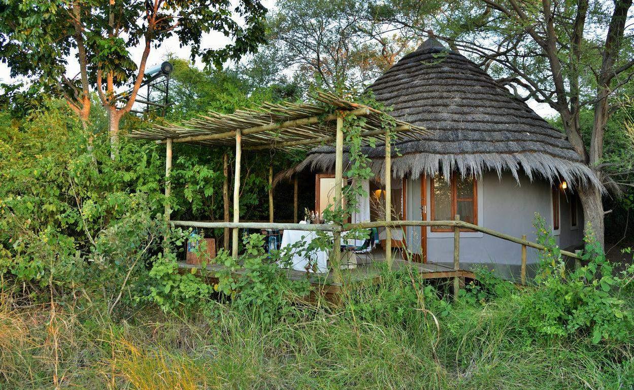 River Front Chalet der Bakwena Lodge