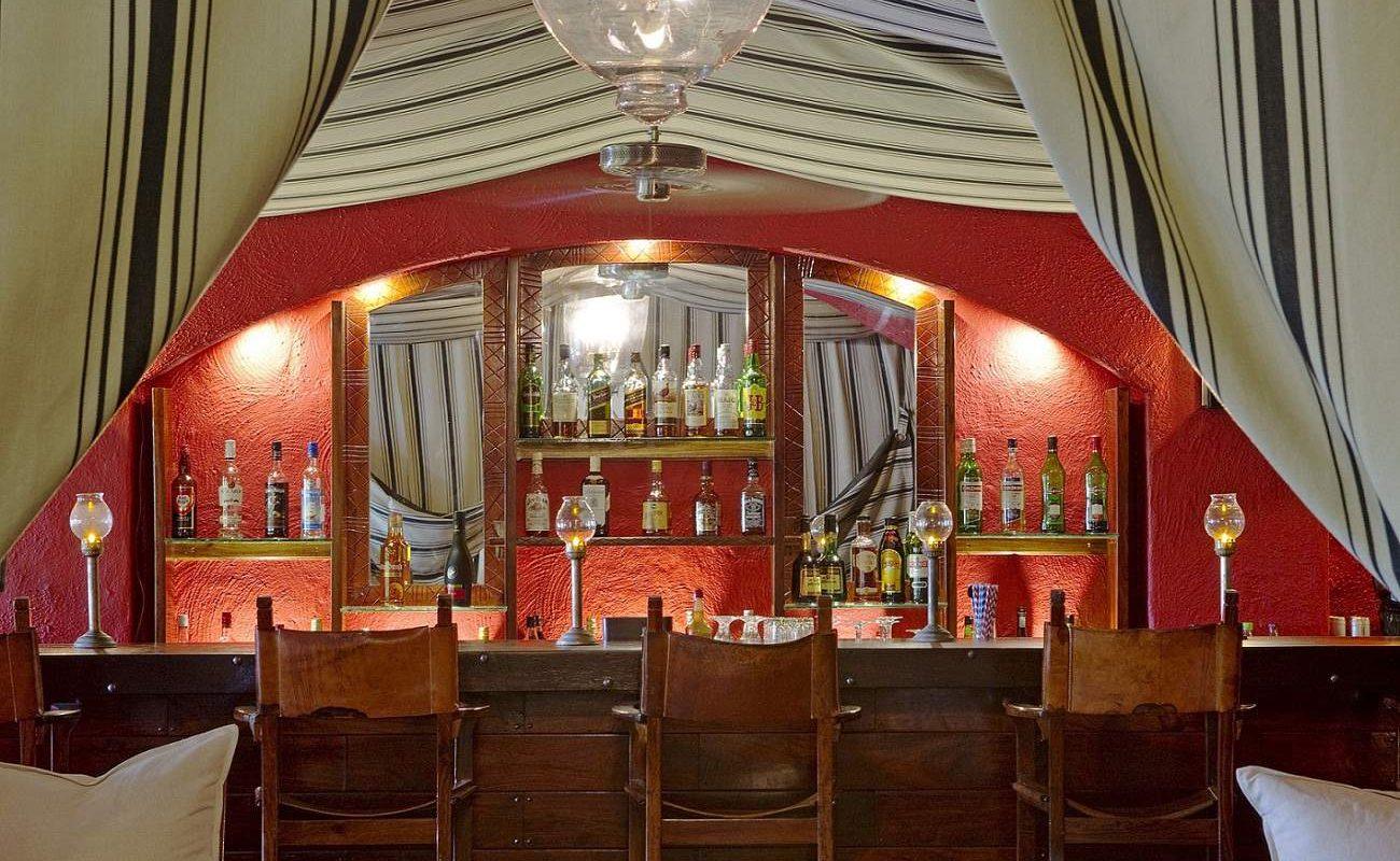 Die legendäre Bar in der auch Elizabeth Taylor und Richard Burton feierten