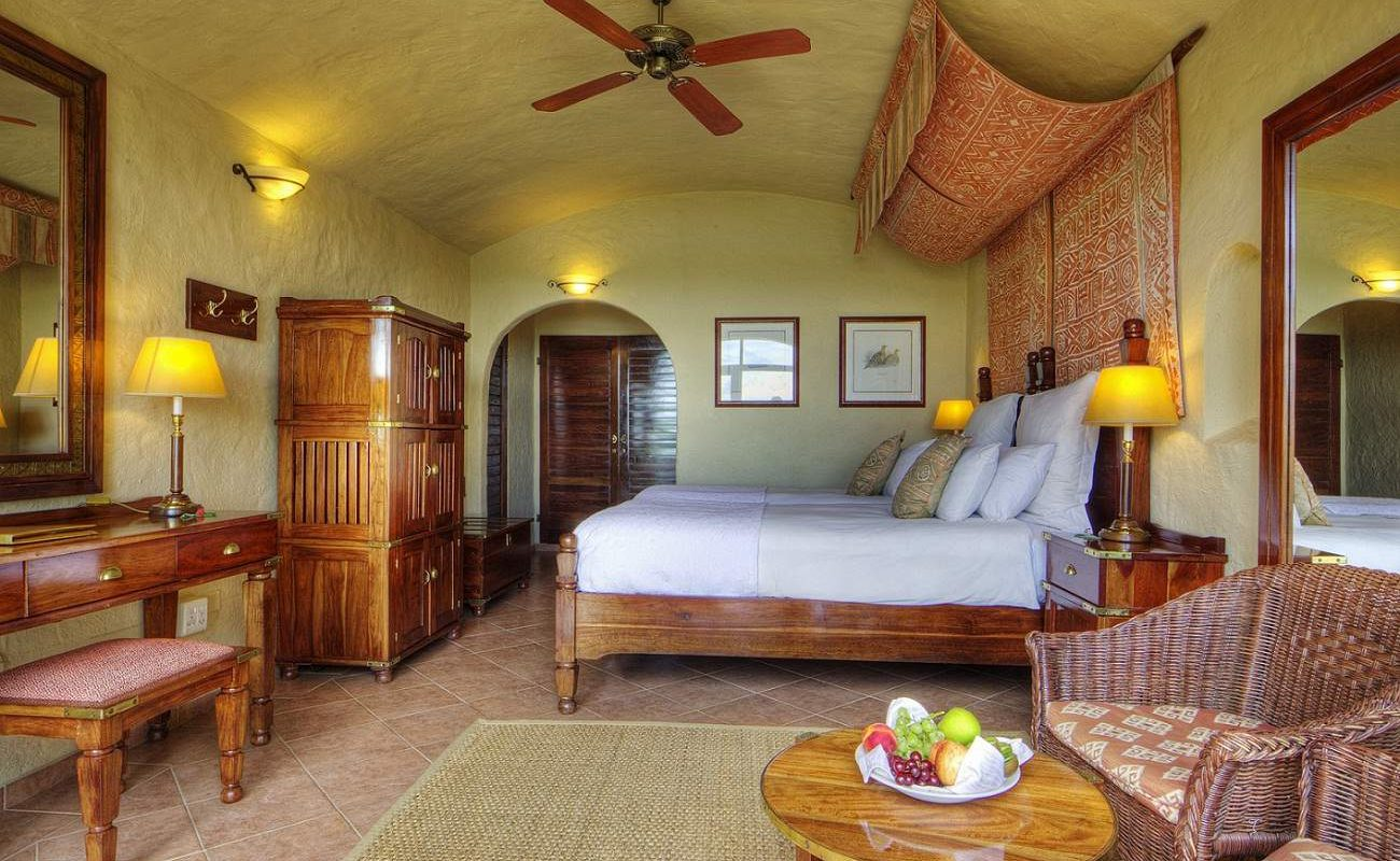 Standardzimmer der Chobe Game Lodge