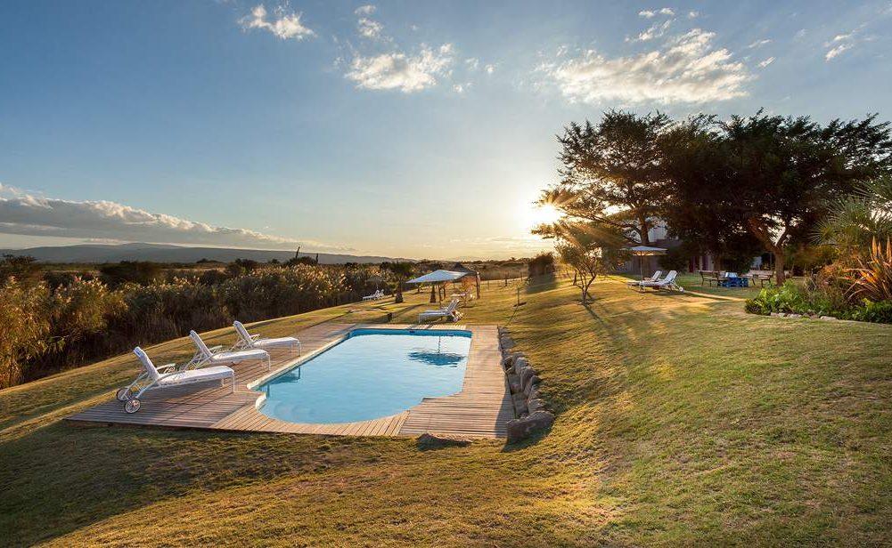 Pool von De Zeekoe - toll für heiße Sommermonate in der Kleinen Karoo