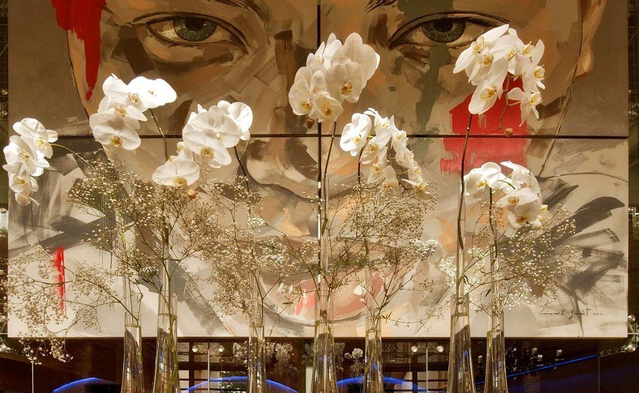 Lionel Smit Sentinal Kunstwerk in Delaire Graff