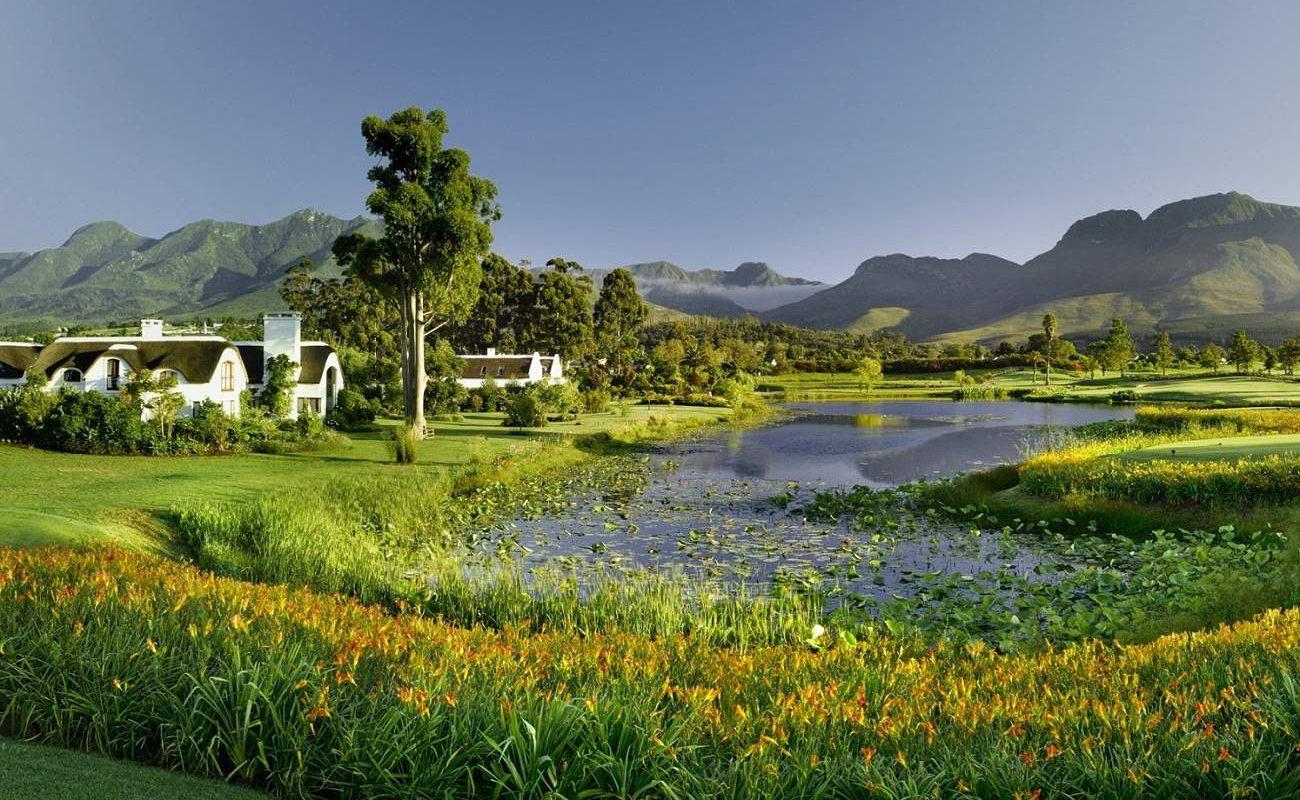 Outeniqua, einer der drei Golfplätze des Luxushotels an der Garden Route