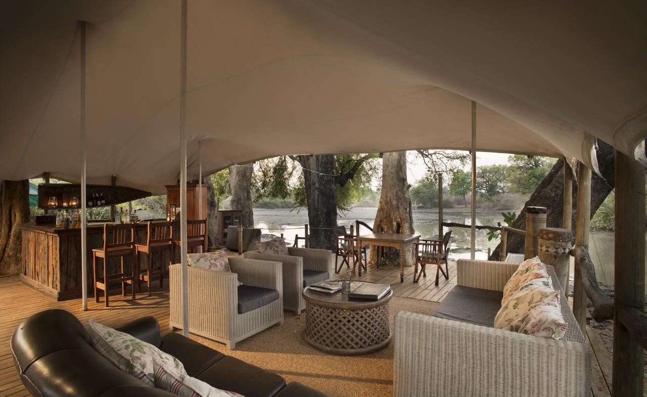 Lounge des Kanga Camps