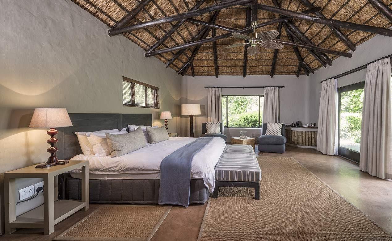 Schlafzimmer einer Suite