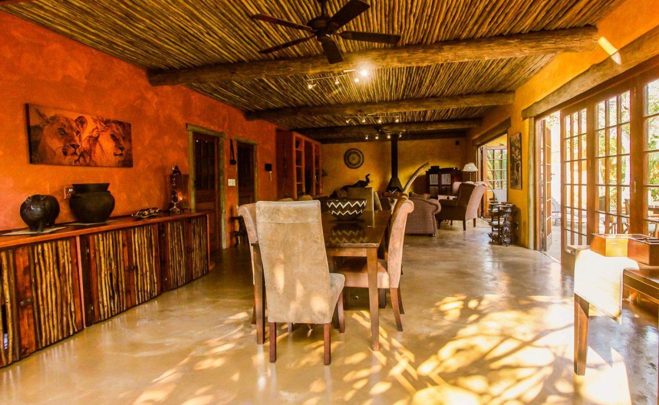 Die gemütliche Lounge von KwaLucia