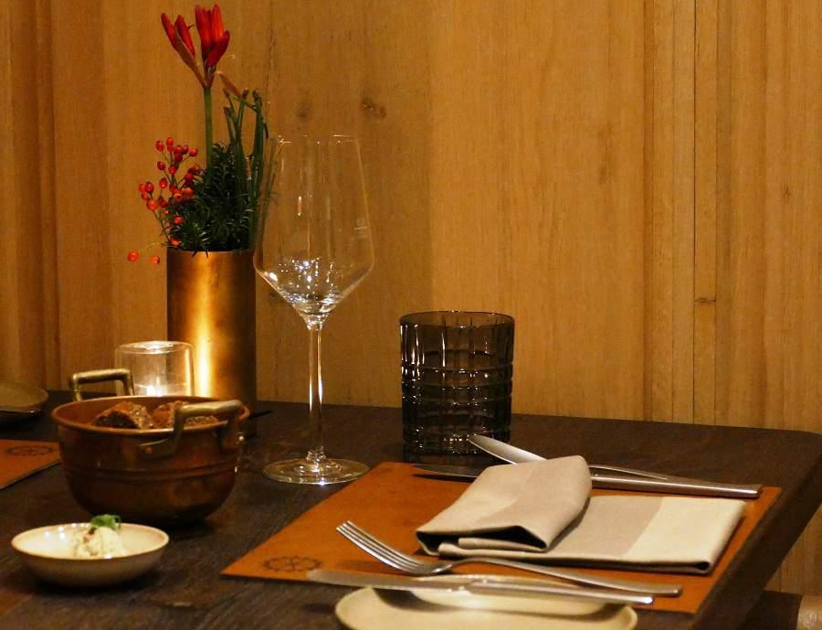 Liebevoll gedeckter Tisch in der Pfistermühle