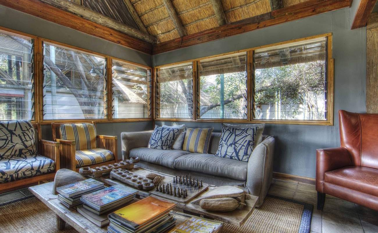 Lounge Savute Safari Lodge