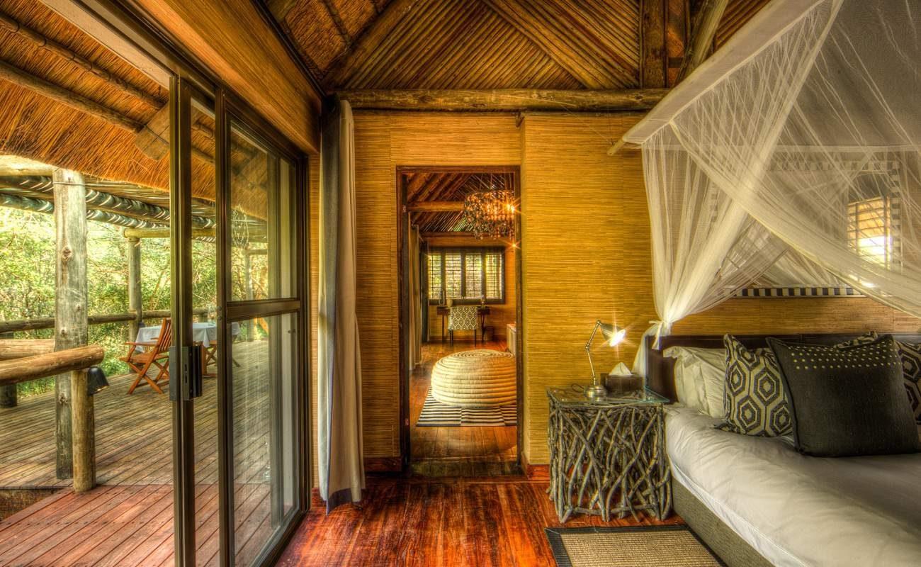 Chalet der Savute Safari Lodge