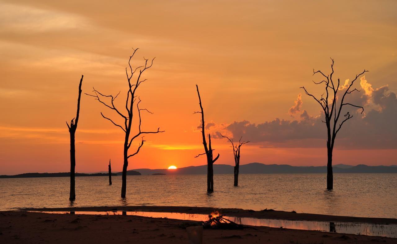 Sonnenuntergang am Lake Kariba
