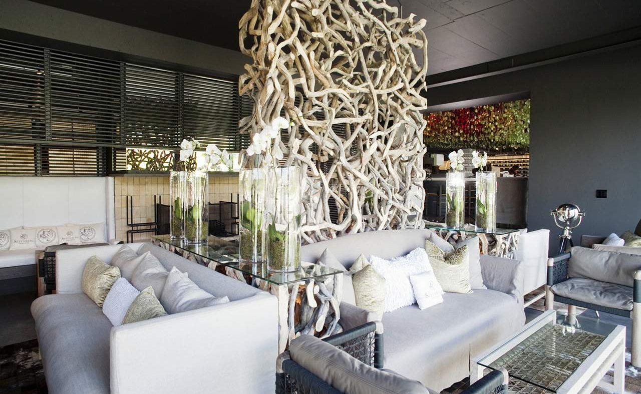Das moderne Restaurant des Steenberg Hotels