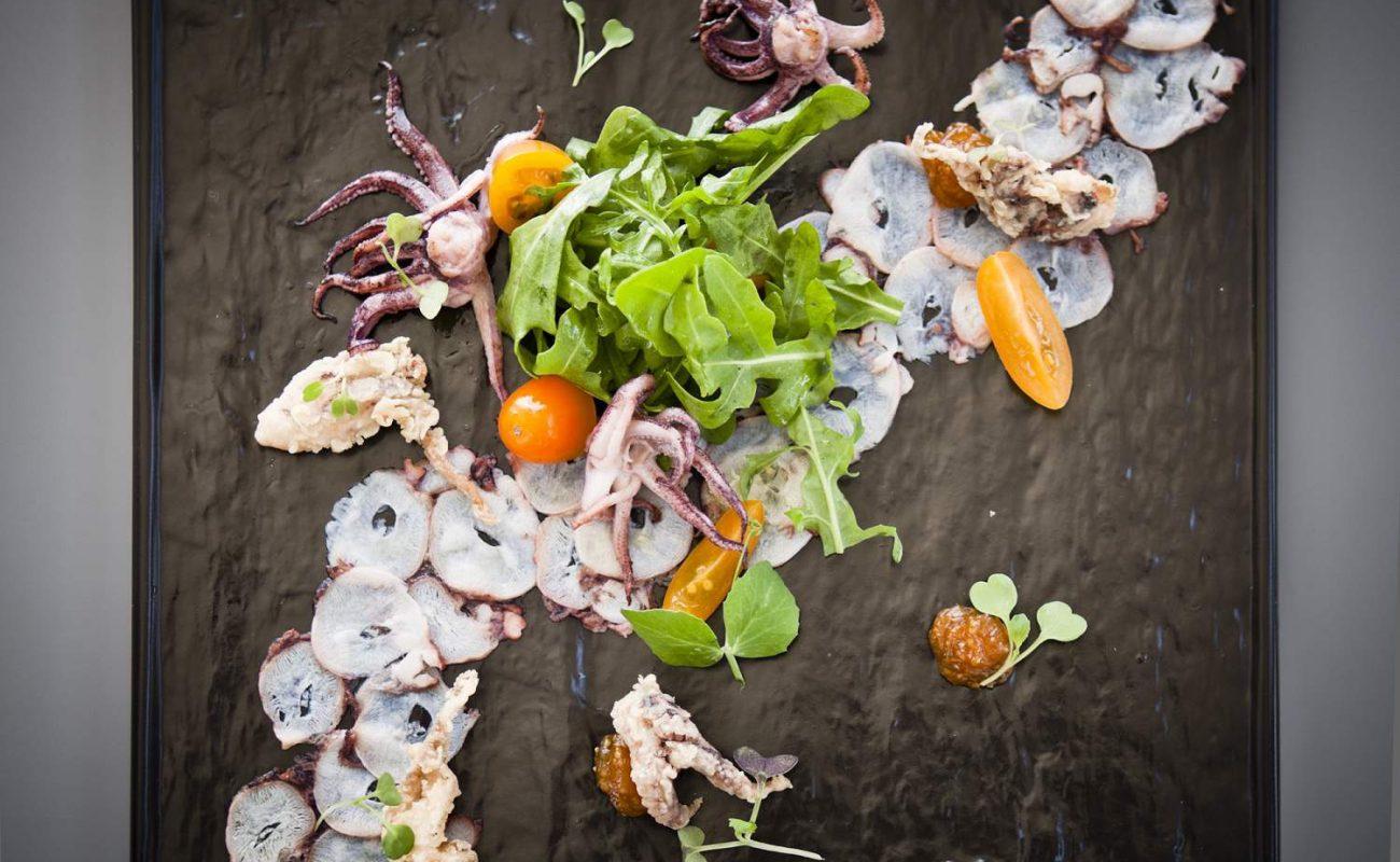 Feine Meeresfrüchte im Restaurant des The Marine