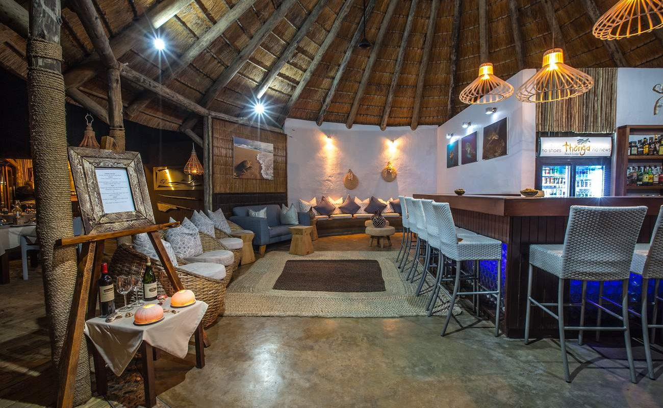 Bar der Thonga Beach Lodge