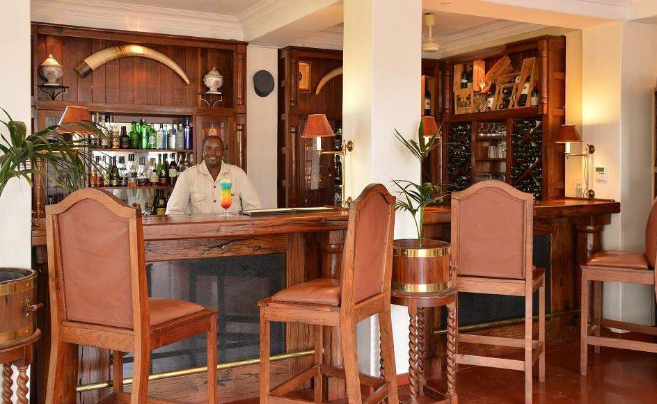 Bar des Victoria Falls Hotels