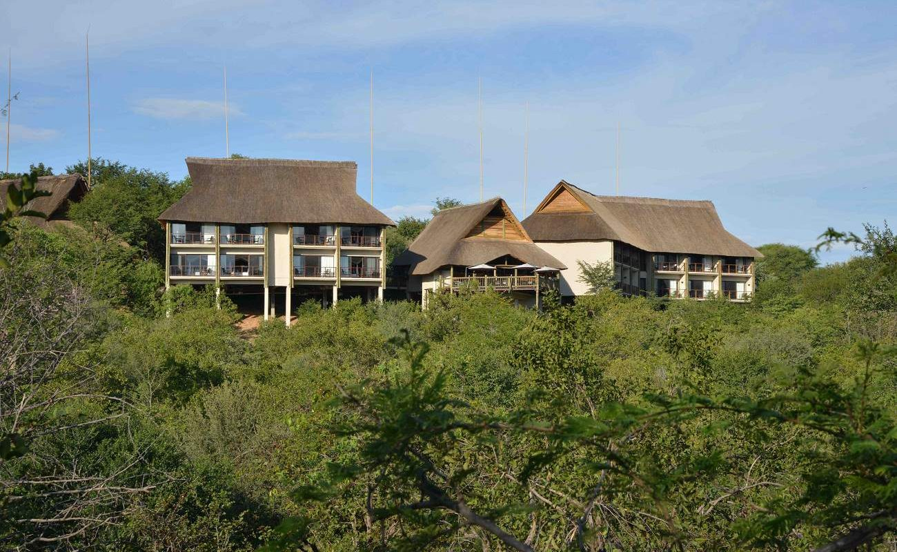 Gesamtansicht des Victoria Falls Safari Club