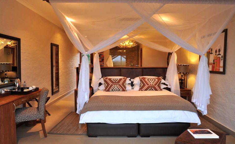 Standardzimmer der Luxuslodge